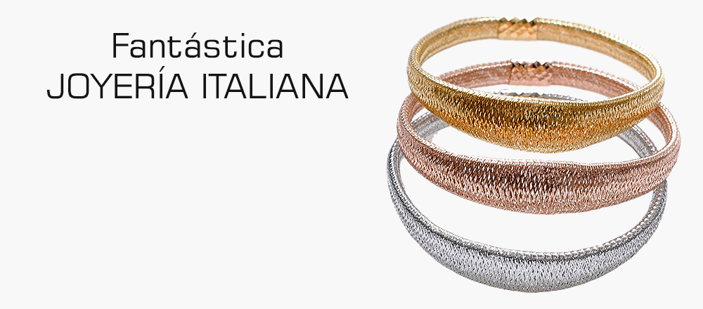 Made in Italy jewelry in silver and gold, fashion costume jewellery, bijoux: Italian manufacturers, brands and wholesalers