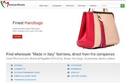 Wholesale Italian fashion products from factories, artisans and brands made in Italy